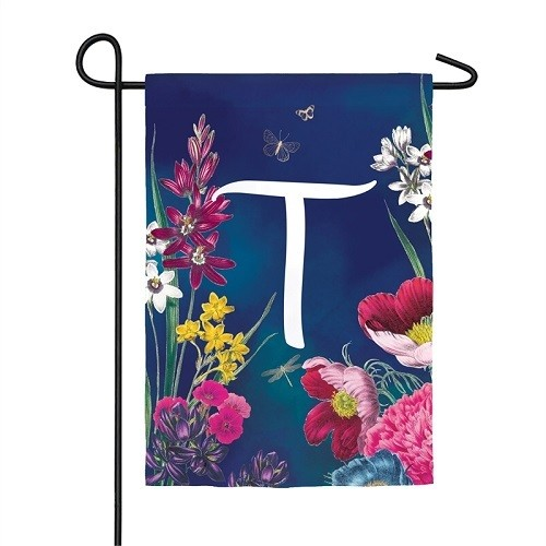 Garden Flag - Letter T