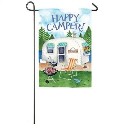 Garden Flag - Happy Camper