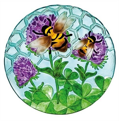 Birdbath Bowl - Busy Bee