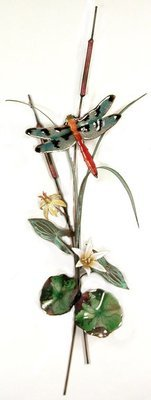 Bovano - Dragonfly with Lilies