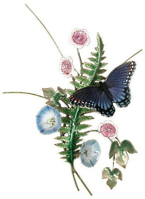 Bovano - Butterfly Blue with Fern