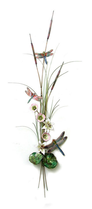 Bovano - Dragonflies and Cattails