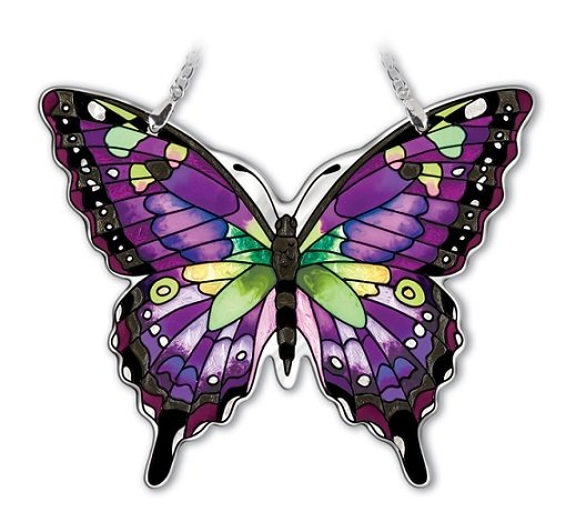 Sun Catcher Butterfly Purple Swallowtail