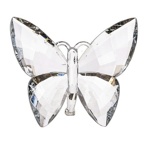 Acrylic Butterfly Clear Sitting or Hanging