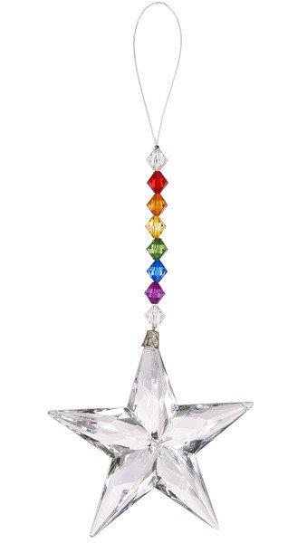 Acrylic Rainbow Star