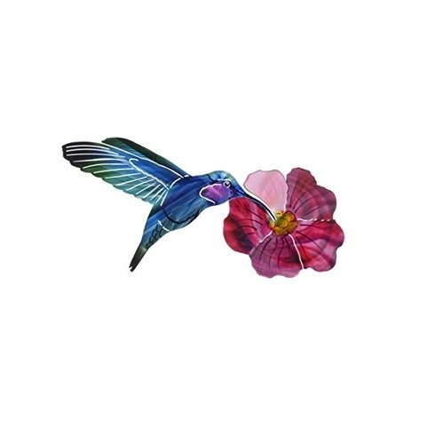 Wall Art - Refraxion Hummingbird