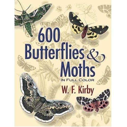 Book - 600 Butterflies and Moths
