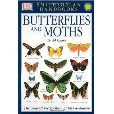 Book - Smithsonian Handbook Butterflies and Moths