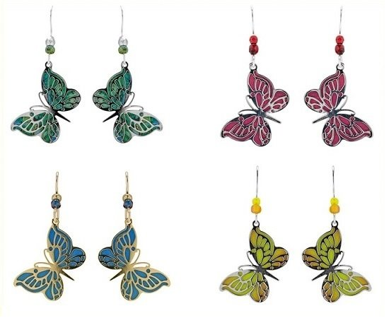 Etched Color Jewelry