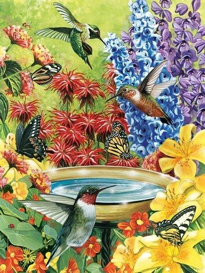 Puzzle - Hummingbird Garden