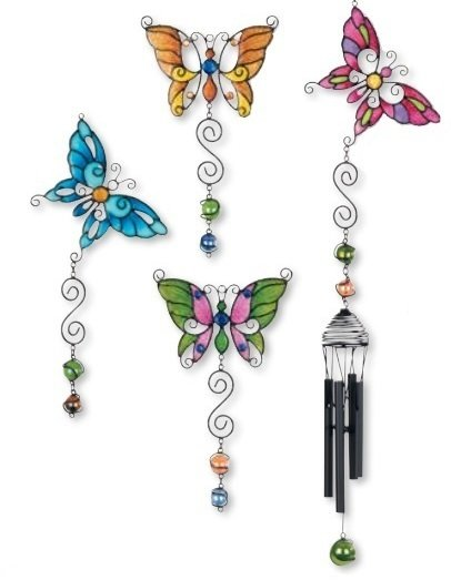 Wind Chime - Multi Butterfly