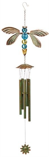 Wind Chime - Verdi Dragonfly
