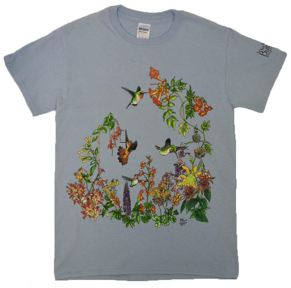T-Shirt - Hummingbird Garden