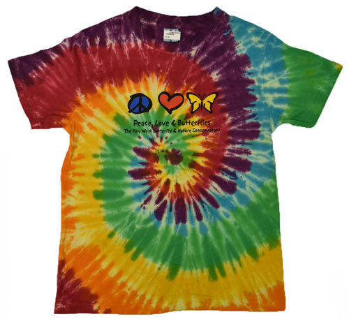 T-Shirt - Peace Love Butterfly Adult
