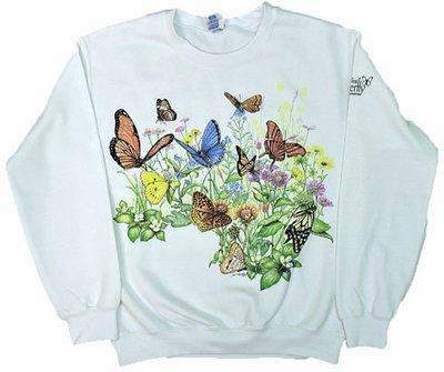 Sweatshirt - Butterfly Garden