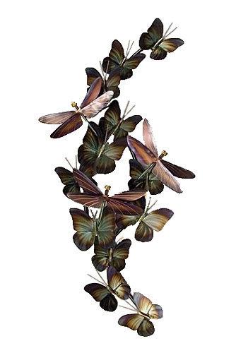 Copper Art - Dragonflies and Butterflies Small