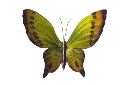 Copper Art - Green Butterfly