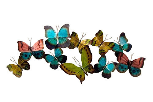 Copper Art - Mixed Flight Horizontal