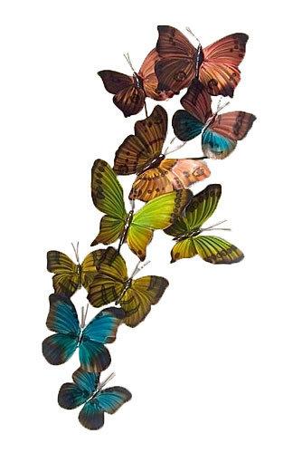 Copper Art - Mixed Flight Vertical