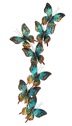 Copper Art - Sunset Moth Set of 7