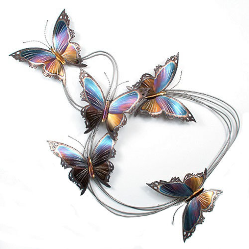 Copper Art - Butterfly Trail Five