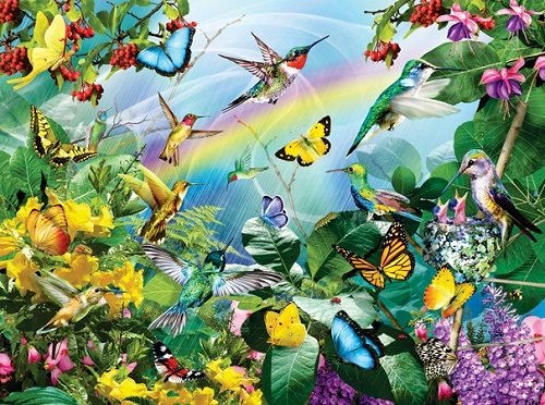 Puzzle - Hummingbird Sanctuary
