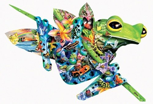 Puzzle - Paradise Frogs