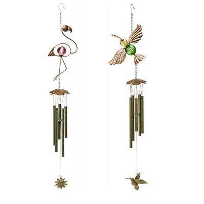 Wind Chime - Verdi Flamingo or Hummingbird
