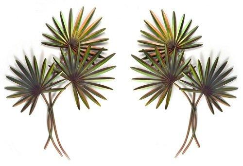Copper Art - Pair of Fan Palms