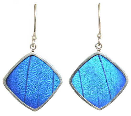 Authentic Butterfly Wing Jewelry - Glass