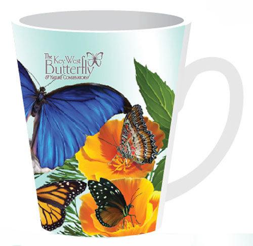 Mug - Butterflies and Flowers