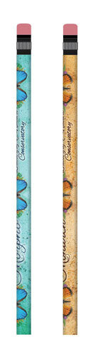 Blue Morpho or Monarch Pencil
