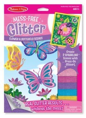 Mess-Free Glitter Stickers