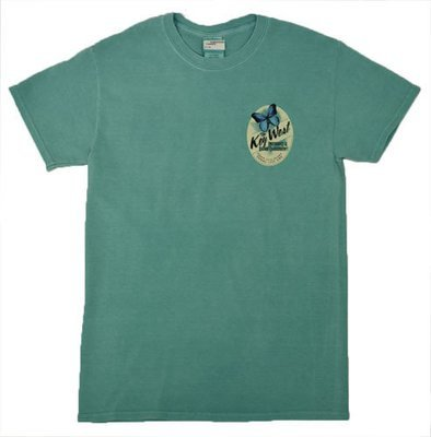 T-Shirt - Pilfer Seafoam or Denim
