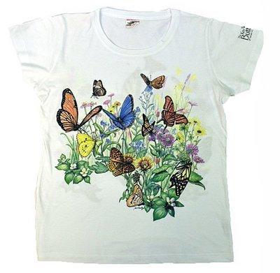 T-Shirt - Butterfly Garden