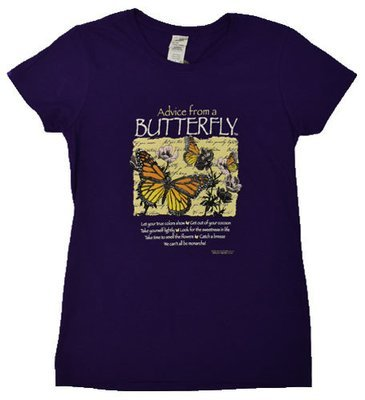 T-Shirt - Advice From a Butterfly
