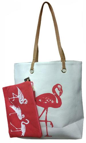 Bag - Cabo Flamingo Set