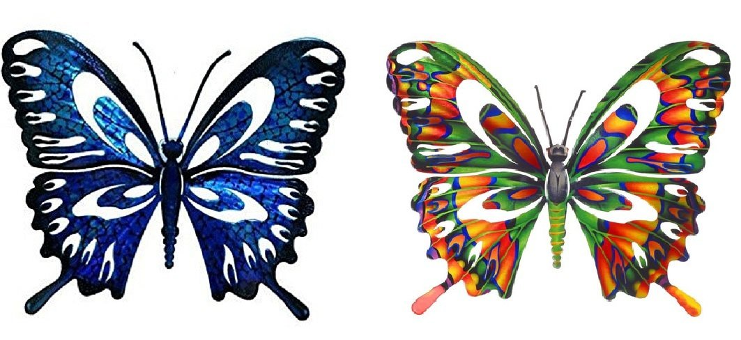Wall Art - Refraxion Butterfly