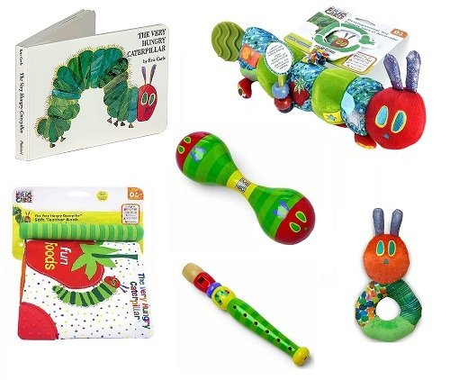 The Very Hungry Caterpillar Books and Toys