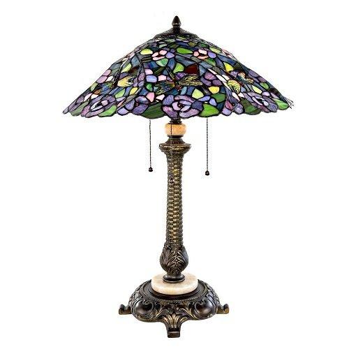 Lamp - Tiffany Style Dragonfly