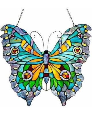 Panel - Stained Glass Butterfly