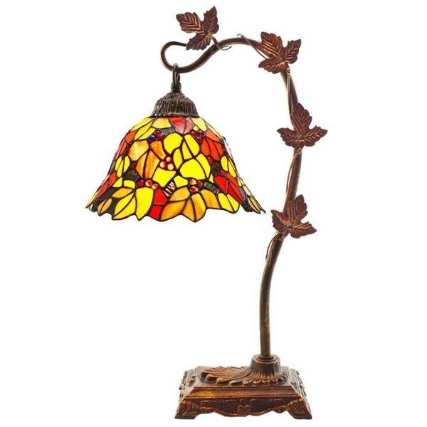 Lamp - Floral Leaf