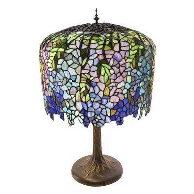 Lamp - Grand Wisteria