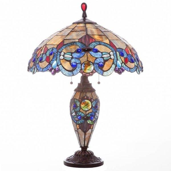 Lamp - Victorian Double Lit