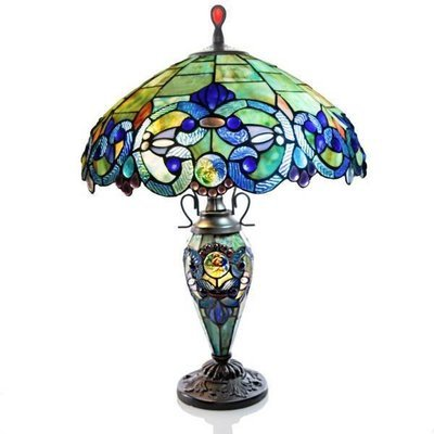 Lamp - Victorian Double Lit