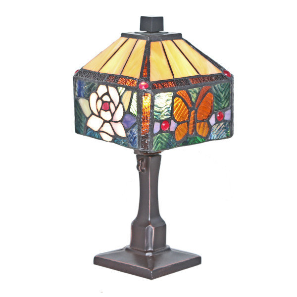 Lamp - Rose & Butterfly