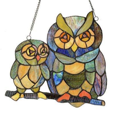 Panel - Friendly Owls