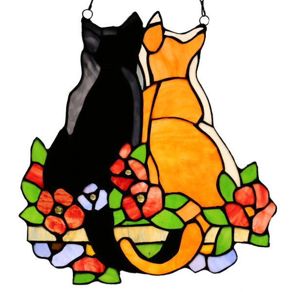 Panel - Cats in the Garden