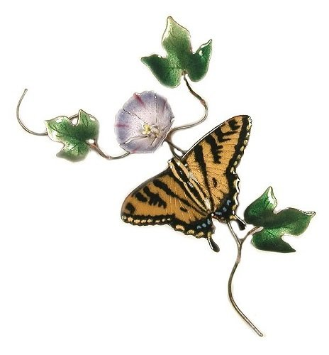 Bovano - Swallowtail with Flower
