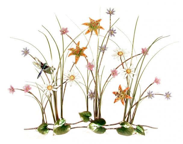 Bovano - Large Dragonfly Wildflower garden